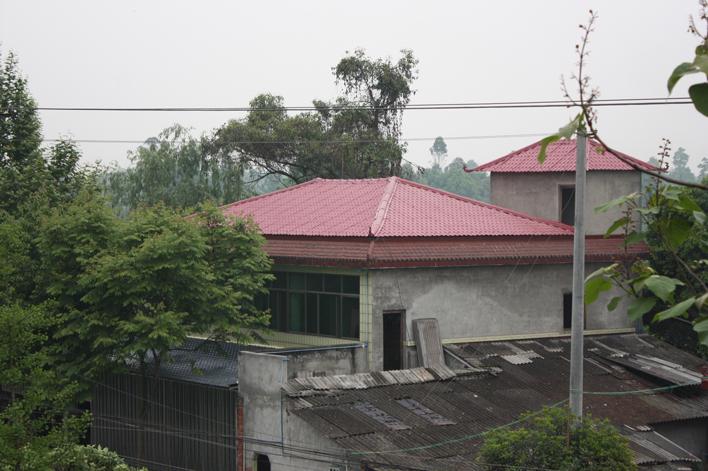 成都温江寿安镇民房屋面改造