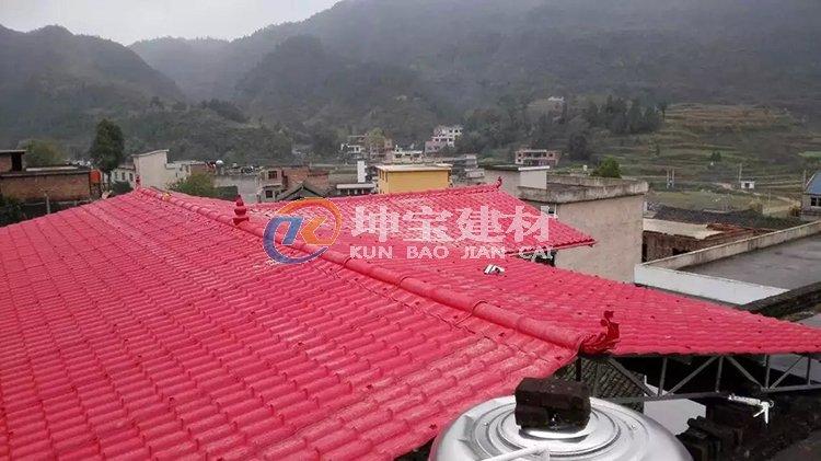 平顶楼房屋顶搭建万博手机版登录瓦大棚